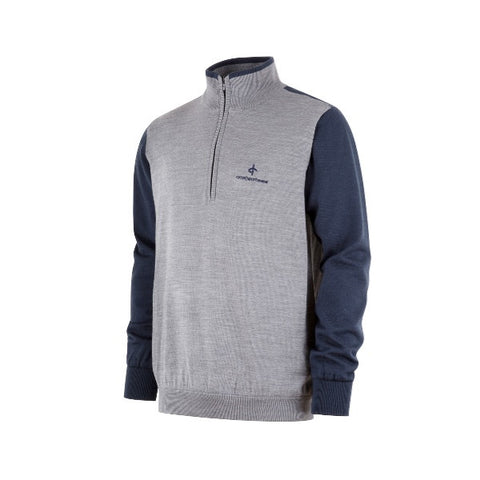 Cross M Storm Sweater Grå Melange