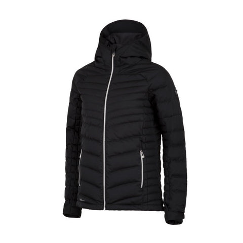 Cross Womens Pro Hoodie Ski Jkt Black