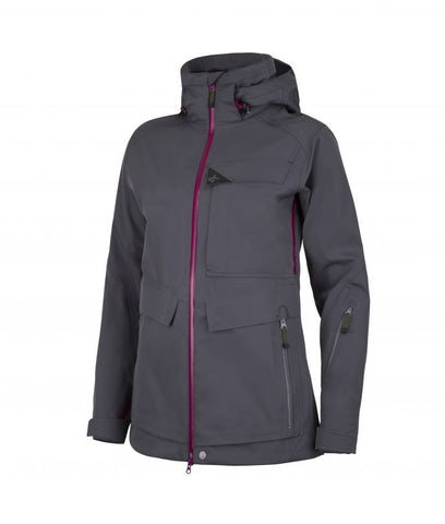 Cross Womens Edge Cargo Jkt Charcoal