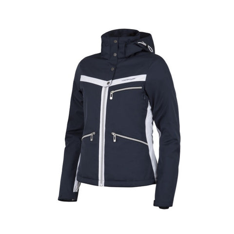 Cross Womens Pro Stripe Ski Jkt Navy 2017