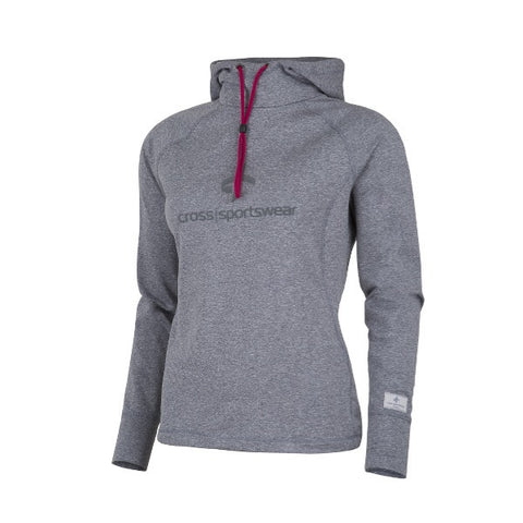 Cross Womens Tech Hood GreyMelange