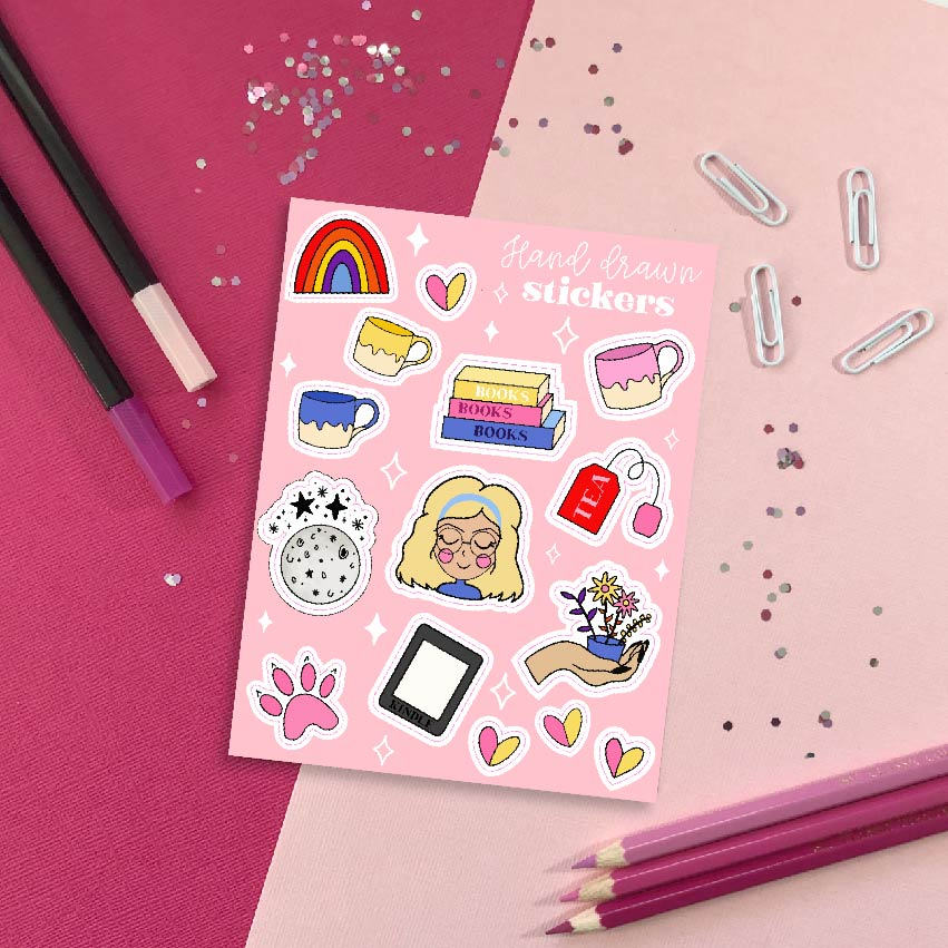 Favourite Things Sticker Sheet