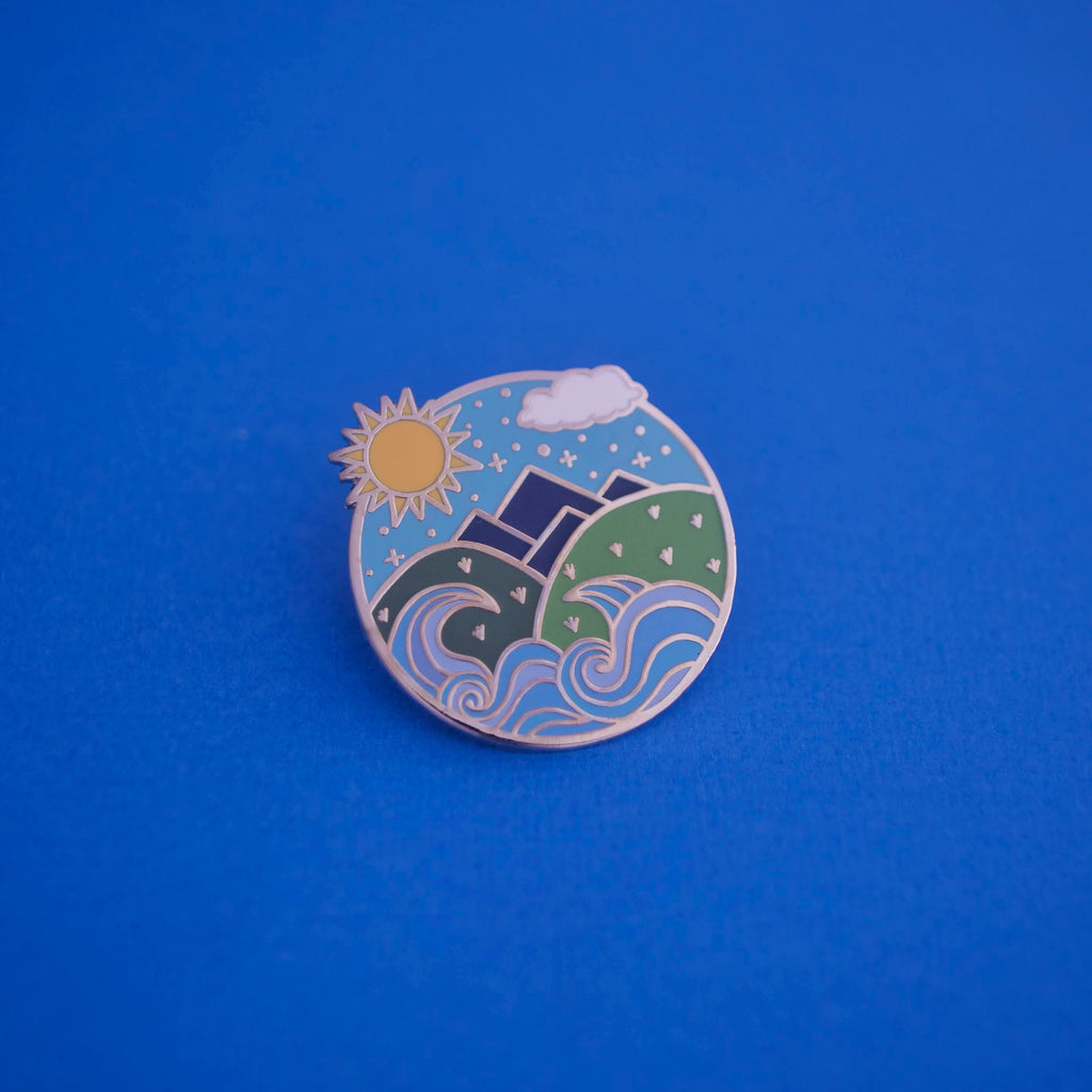 The Summer Court Enamel Pin
