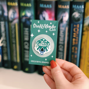 The Court of Terrasen WonderMail Enamel Pin