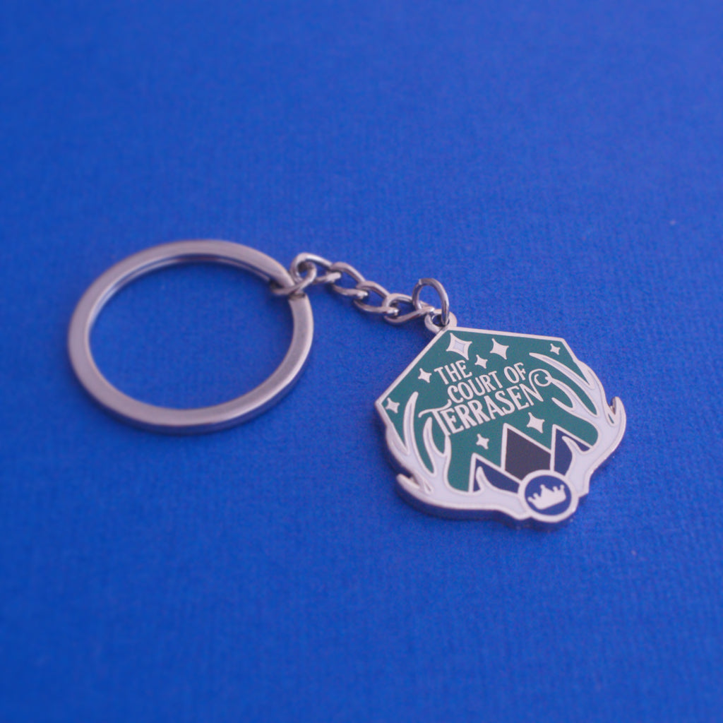 The Court of Terrasen Enamel Keychain