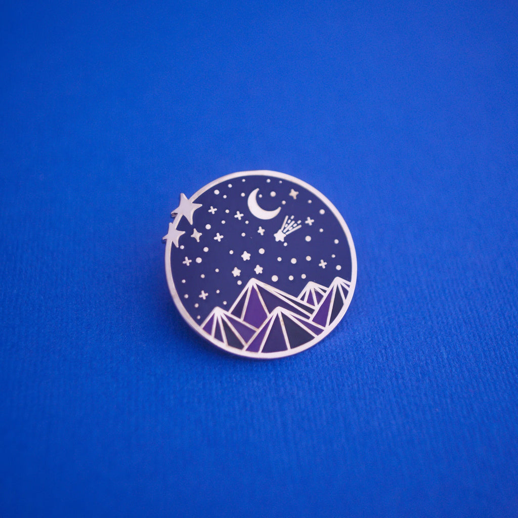 The Night Court Enamel Pin