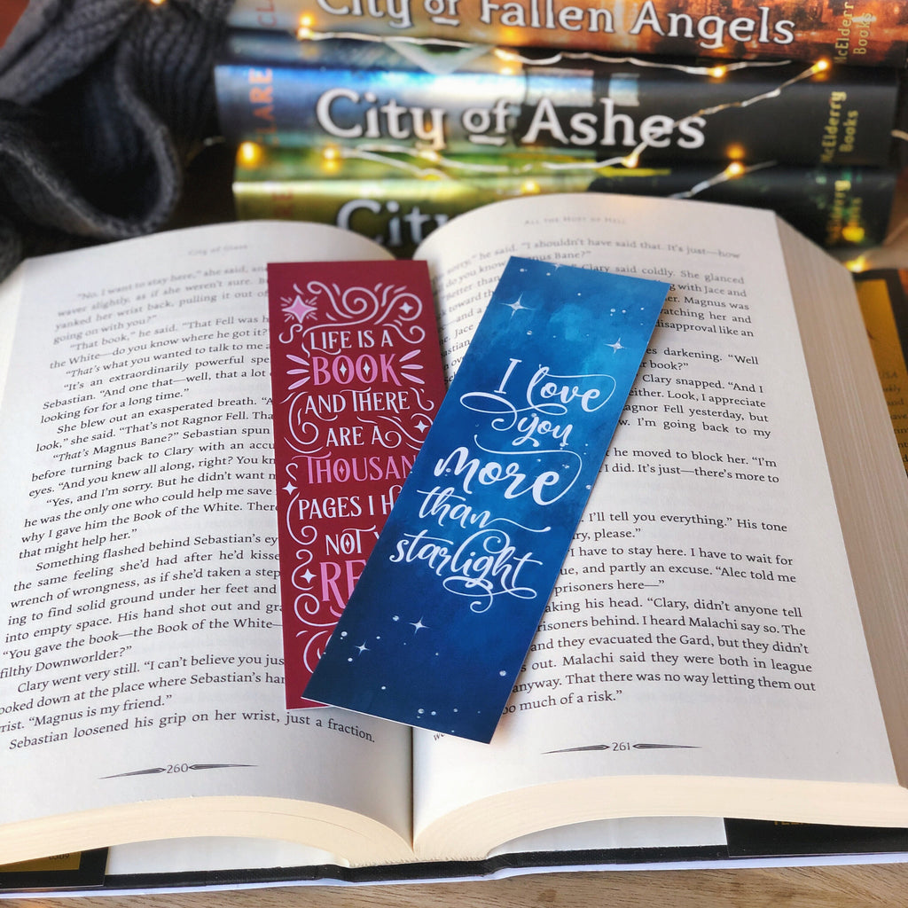 Join the Clave WonderMail double-sided bookmark