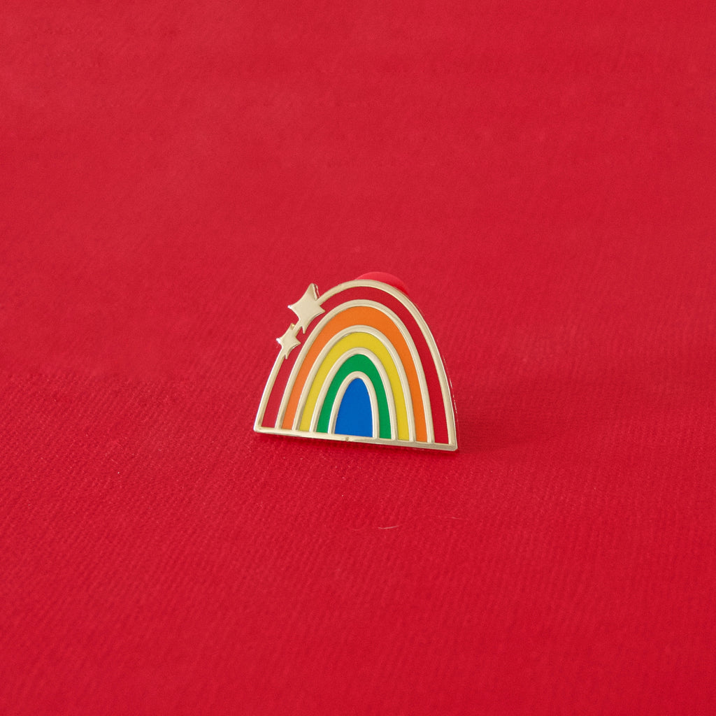 Traditional Rainbow Enamel Pin