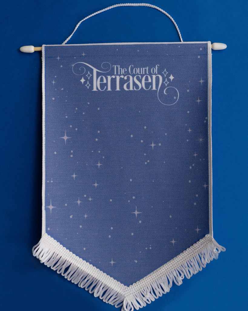 Court of Terrasen Enamel Pin Display Banner
