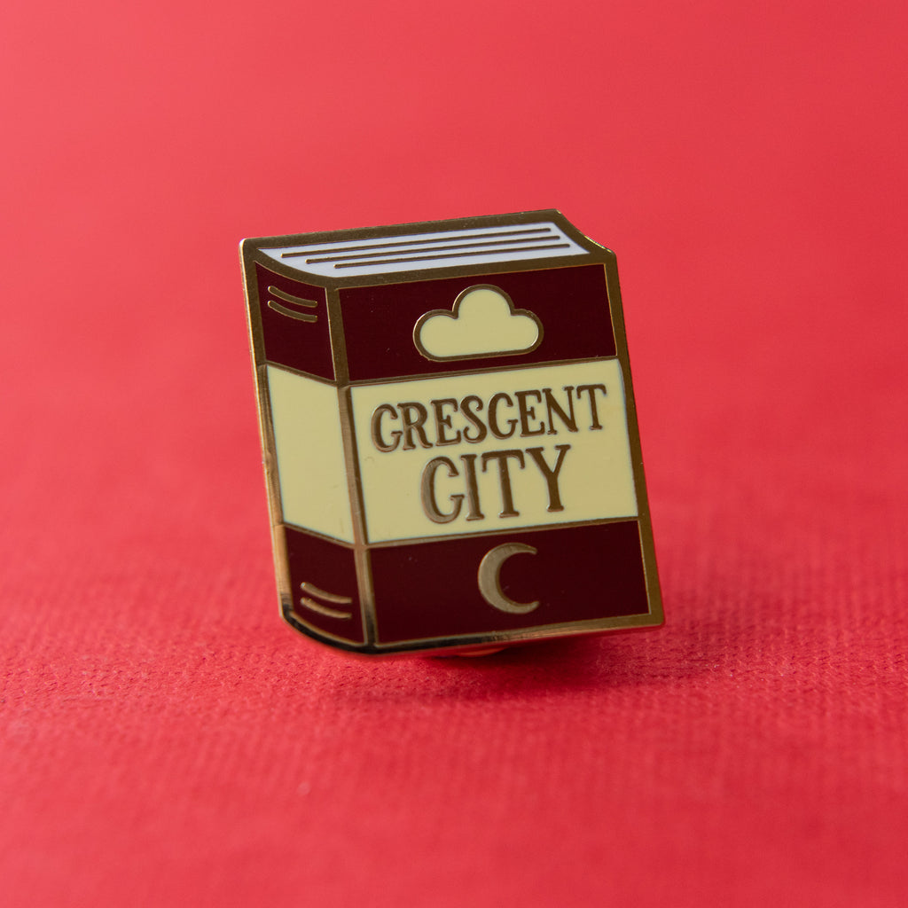 Popular Pinguin: Crescent City Enamel Pin