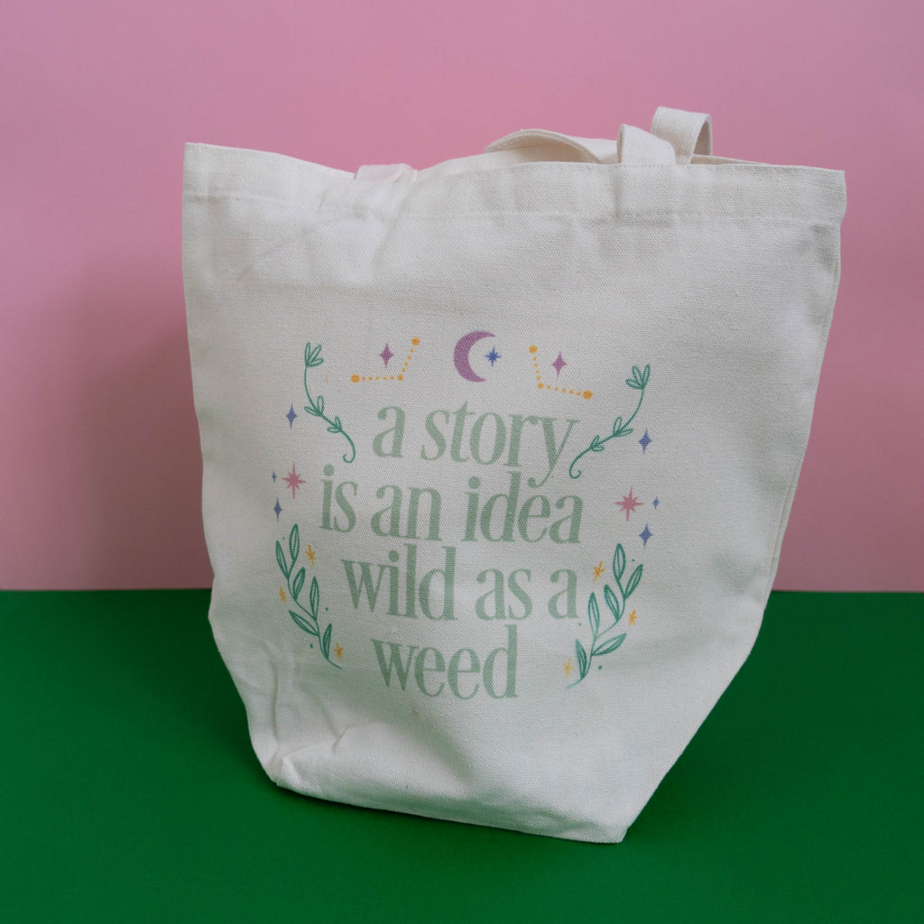A Story Is An Idea Tote Bag