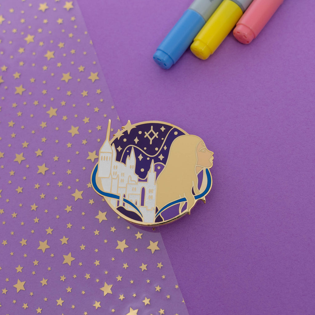 Rattle The Stars WonderMail Enamel Pin