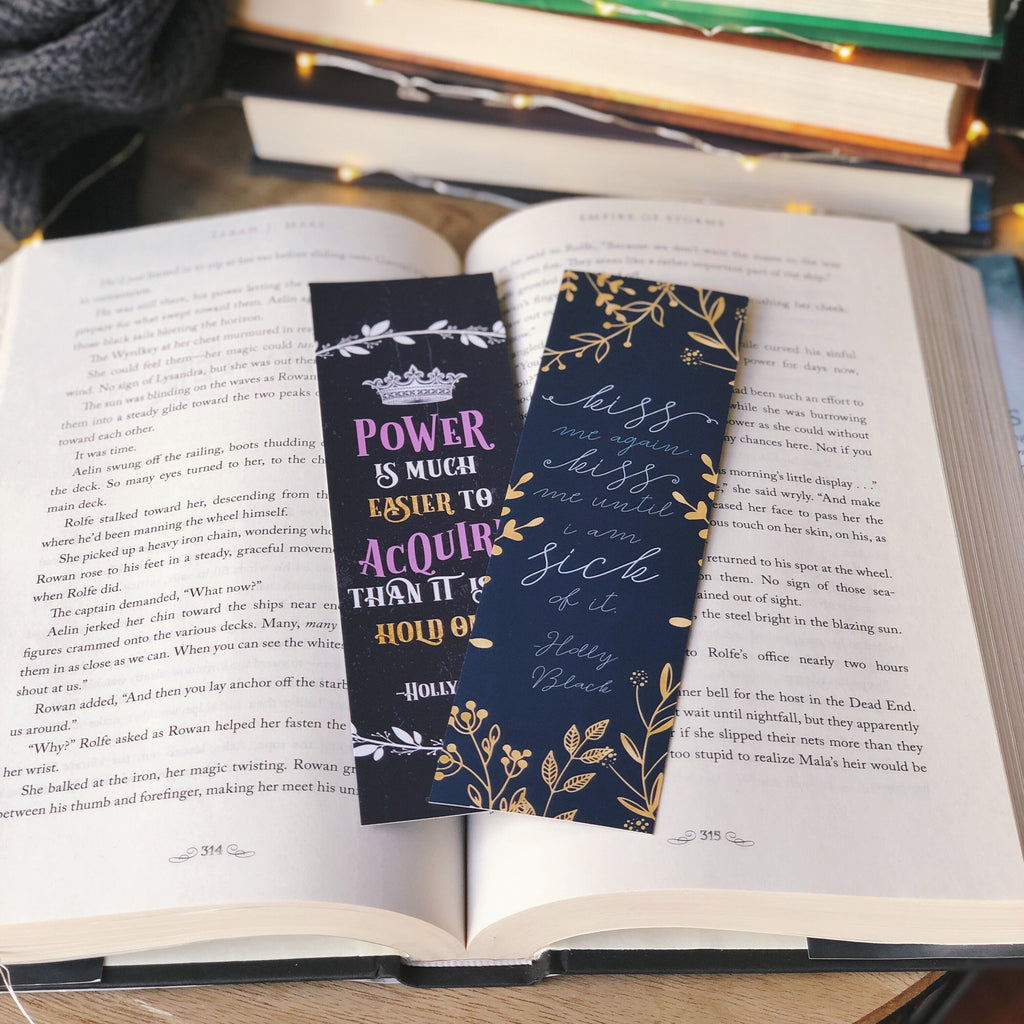 Fantastical Fae WonderMail double-sided bookmark