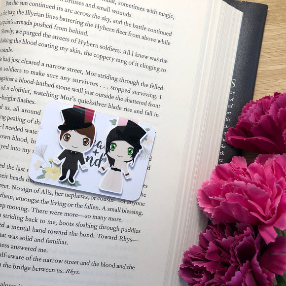 Stalking Jack the Ripper Magnetic Bookmarks