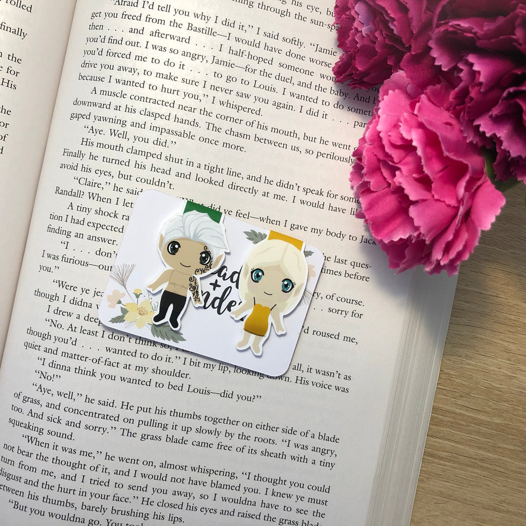 Throne of Glass Magnetic Bookmarks