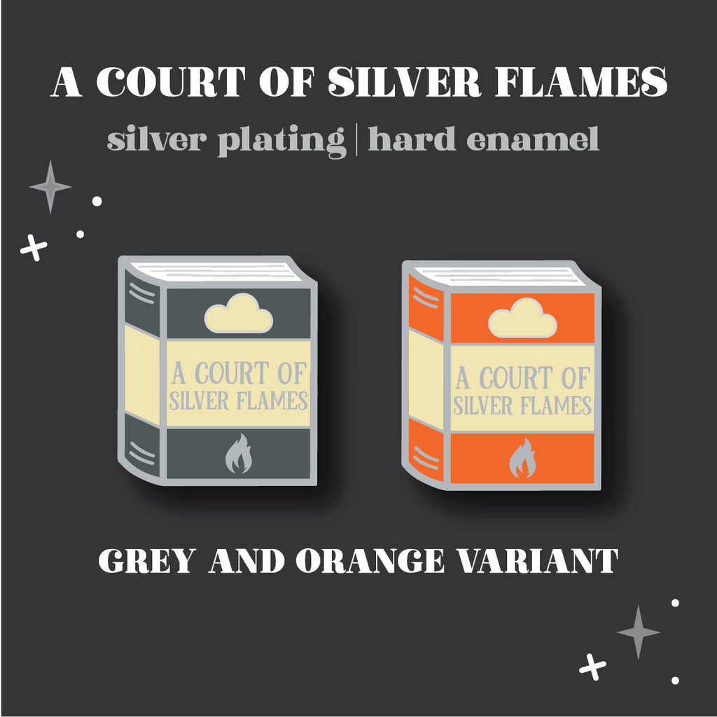 PRE-ORDER Popular Pinguin: A Court of Silver Flames Enamel Pin