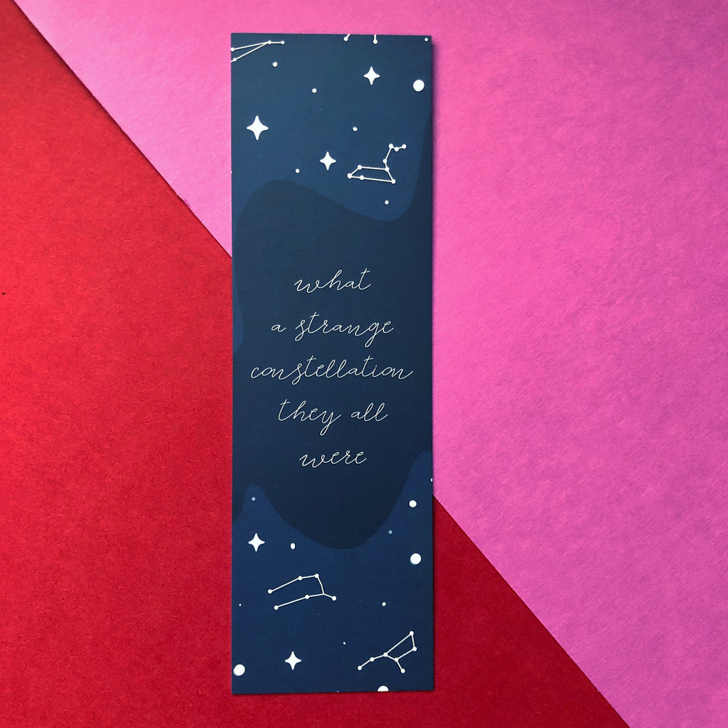 Dream Up Something January WonderMail double-sided bookmark