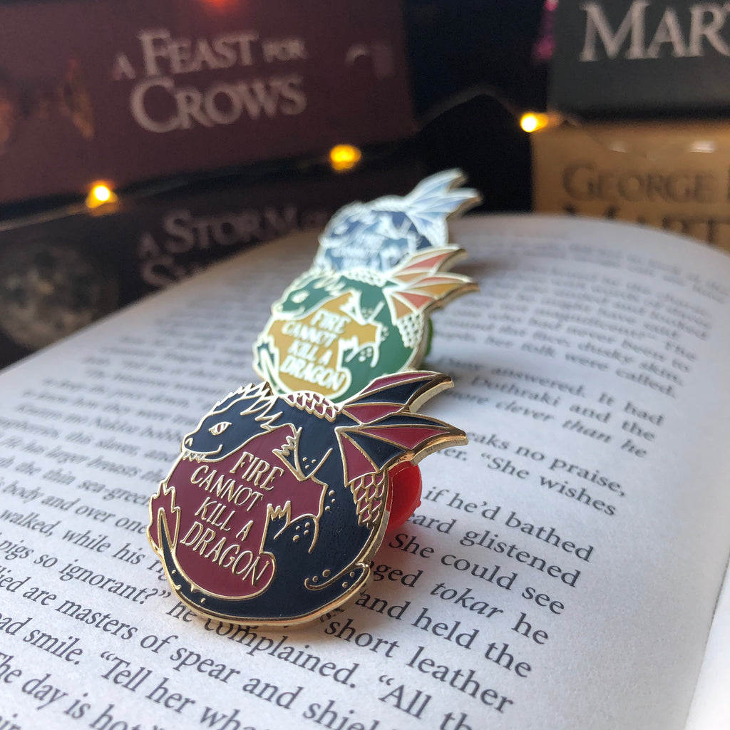 Game of Thrones April WonderMail Enamel Pin