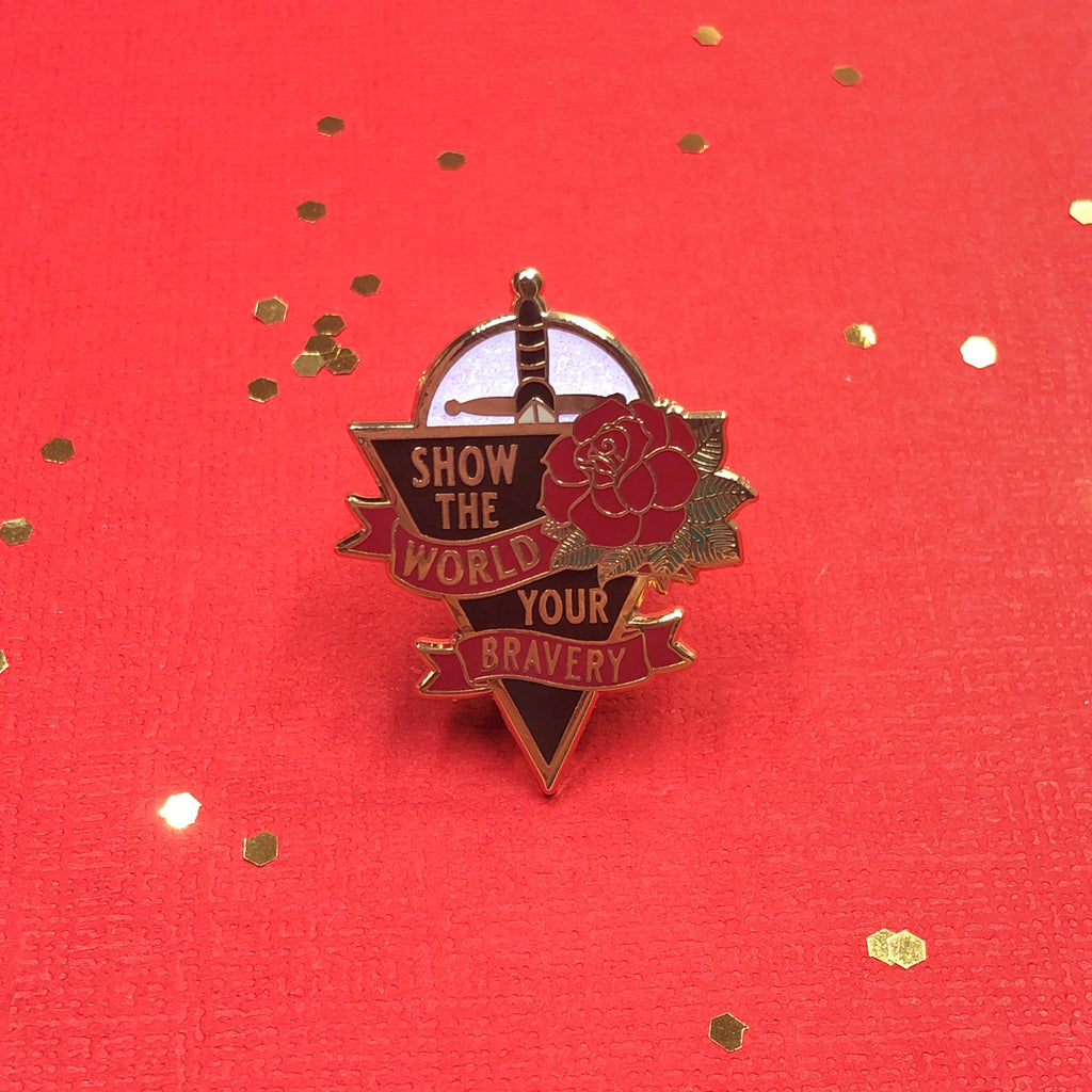 Stalking Jack The Ripper Enamel Pin