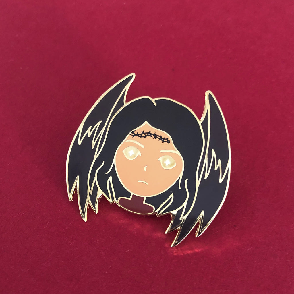 Hunt Athalar | Bookish Babe Enamel Pin