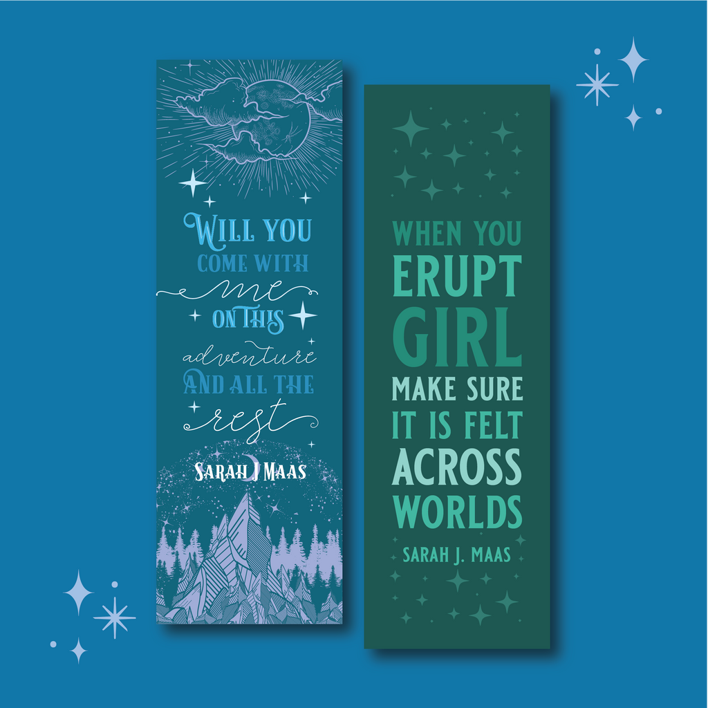 The Court Of Dreams WonderMail double-sided bookmark