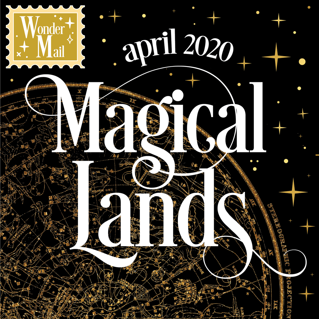 PIN ONLY April WonderMail: Magical Lands