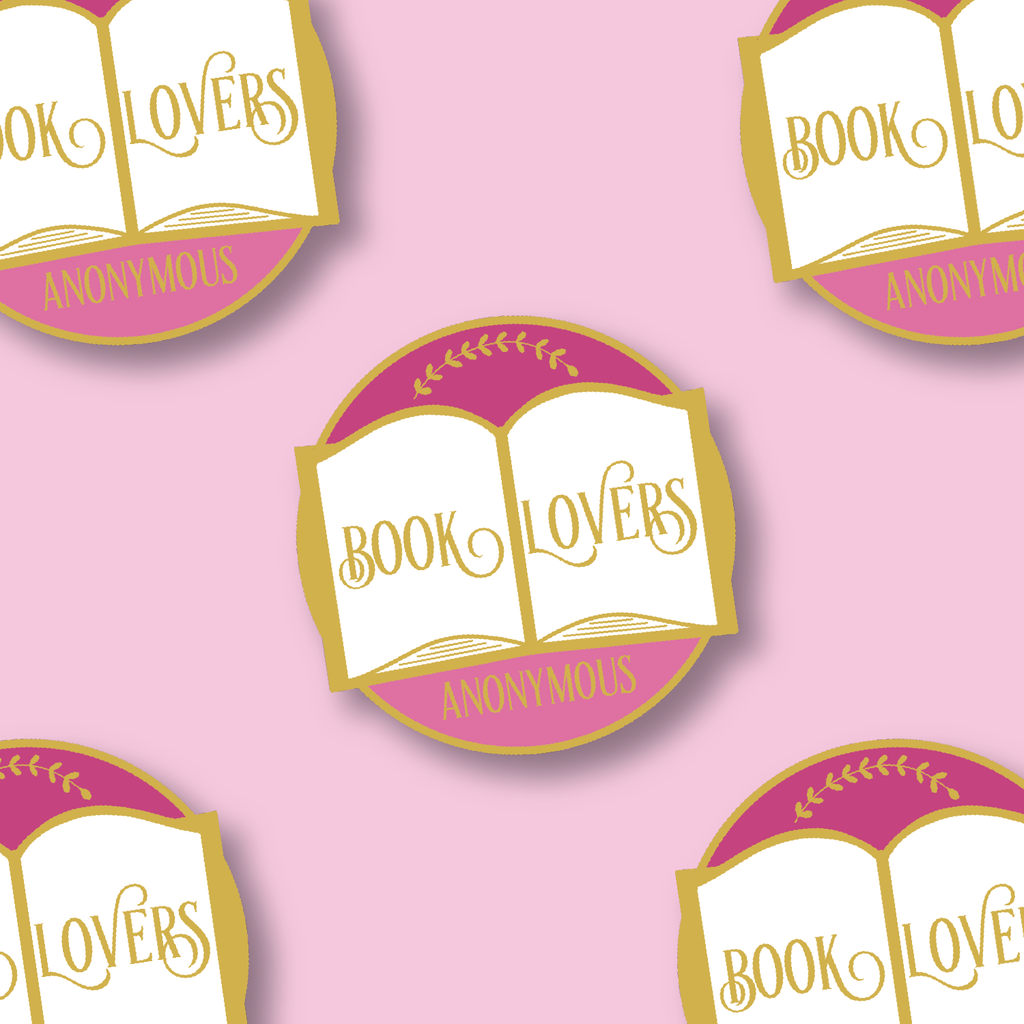 Book Lovers Anonymous Vinyl Sticker