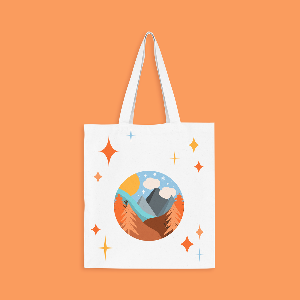 Seven Courts Tote Bag
