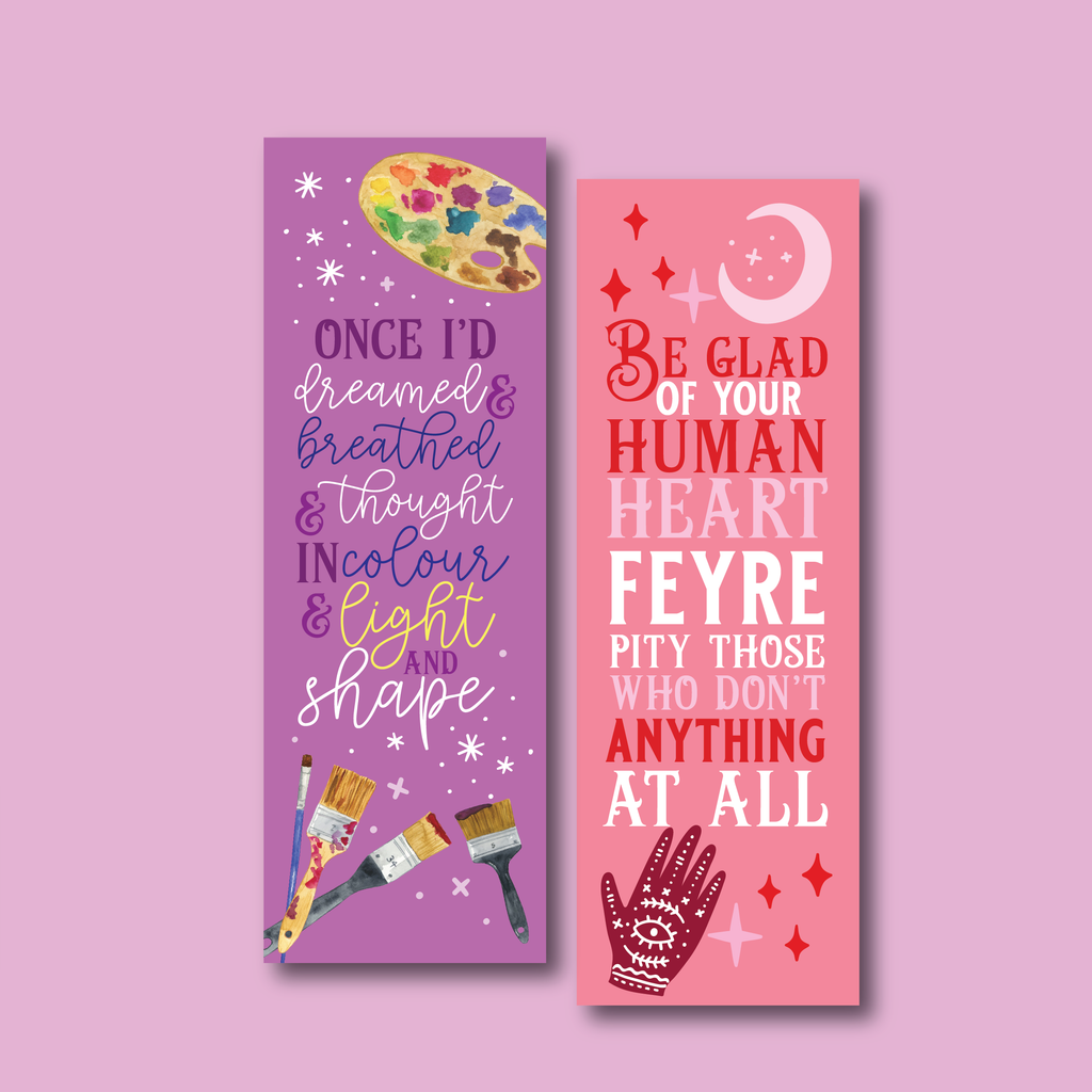 November WonderMail double-sided bookmark