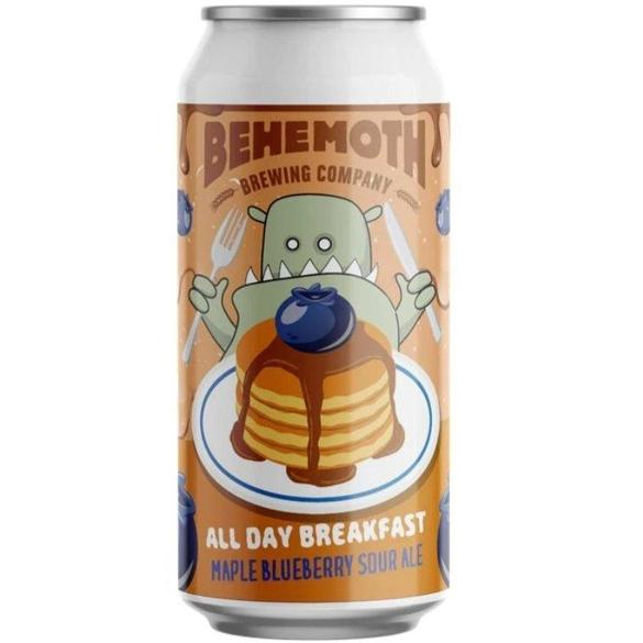 Behemoth All Day Breakfast Maple Blueberry Sour Ale Sour/Funk 440ml / Can
