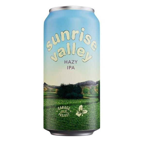Garage Project Sunrise Valley Hazy IPA 440ml / Can