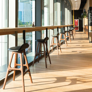 High Quality Wood and Leather Barstools by Sean Dix. Available at SODA Furniture. SODA is Singapore's #1 commercial furniture supplier for F&B cafes, bistros, bars, pubs, chain restaurants, hospitality projects, airports, hotels & offices.