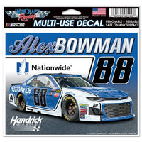 "Alex Bowman NASCAR 4.5"" x 5.5"" Multi Use Decal - Color Car Image"