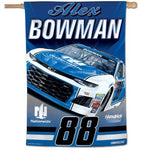 "Alex Bowman NASCAR 28"" x 40"" Vertical Flag"