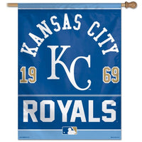 "Kansas City Royals MLB 27"" x 37"" Year Established Vertical Flag"