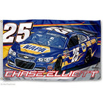 Chase Elliott #25 NASCAR 3' x 5' Single-Sided Deluxe Flag - NAPA
