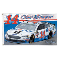 Clint Bowyer NASCAR 3' x 5' Single-Sided Deluxe Flag - Mobil 1