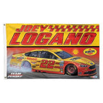 Joey Logano NASCAR 3' x 5' Single-Sided Deluxe Flag