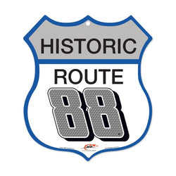 Dale Earnhardt Jr NASCAR Historic Route 88, 10 x 11 Plastic Sign