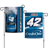 "NASCAR 12"" x 18"" Double-Sided Garden Flag, Pole not included (Select Driver)"