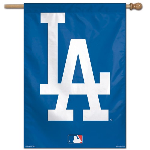 "Los Angeles Dodgers MLB 28"" x 40"" Vertical Flag - Logo"