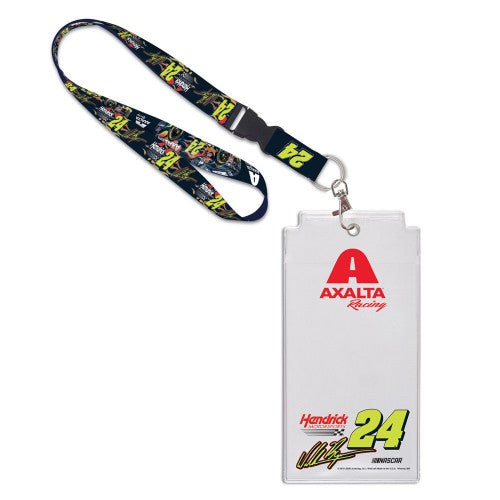William Byron NASCAR Axalta Credential Holder with Lanyard