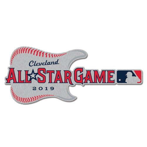 2019 MLB All-Star Game Collectible Pin - Guitar