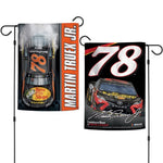 "Martin Truex Jr #78 NASCAR Logo Double-Sided 12"" x 18"" Garden Flag"