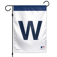 "Chicago Cubs MLB 12"" x 18"" Garden Flag - Cubs Win/W Flag"