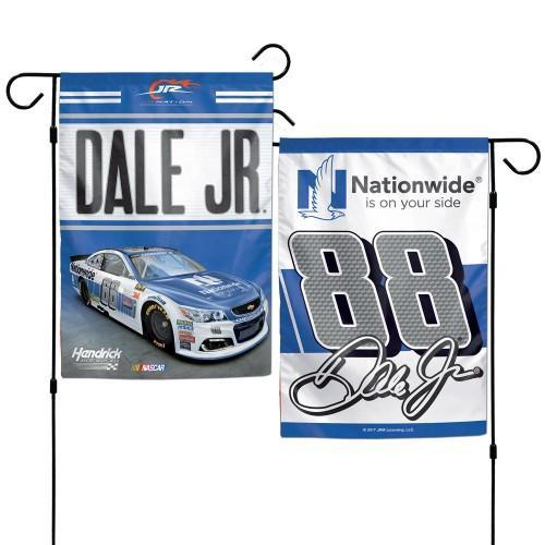 "Dale Earnhardt Jr NASCAR Double-Sided 12"" x 18"" Garden Flag"