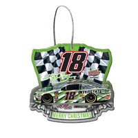 Kyle Busch NASCAR 2018 Dated Acrylic Ornament