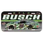 Kyle Busch NASCAR Full Color Plastic License Plate
