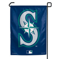 "Seattle Mariners MLB 11"" x 15"" Garden Flag"