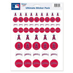 "Los Angeles Angels MLB 8.5"" x 11"" Vinyl Sticker Decal Sheet"